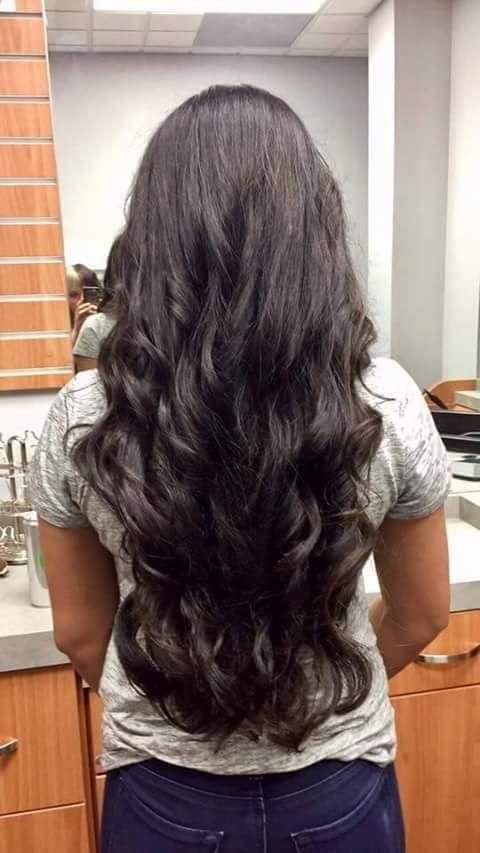 Long Hair Wavy At Bottom