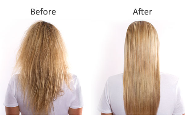 Before After Blonde